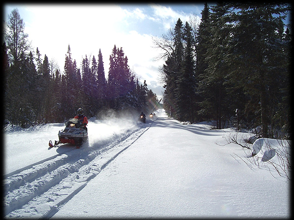 snowmobile the munger trail and stay at the willard munger inn