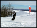 snowboarding at spirit mountain